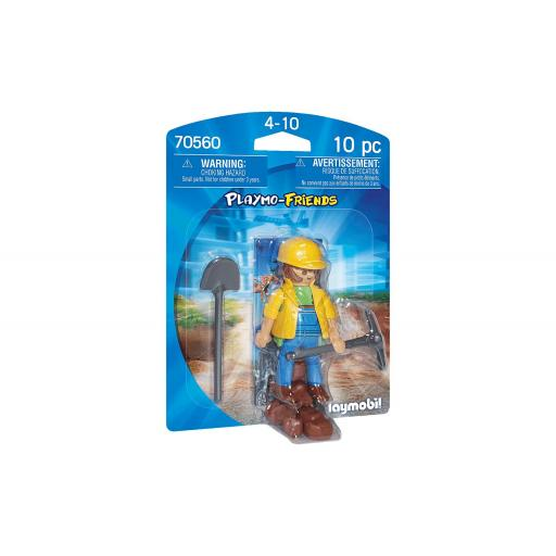 PLAYMOBIL 70560 PLAYMO-FRIENDS OBRERO DE CONSTRUCCION