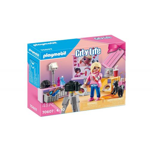 PLAYMOBIL 70607 SET SOCIAL MEDIA STAR YOUTUBER