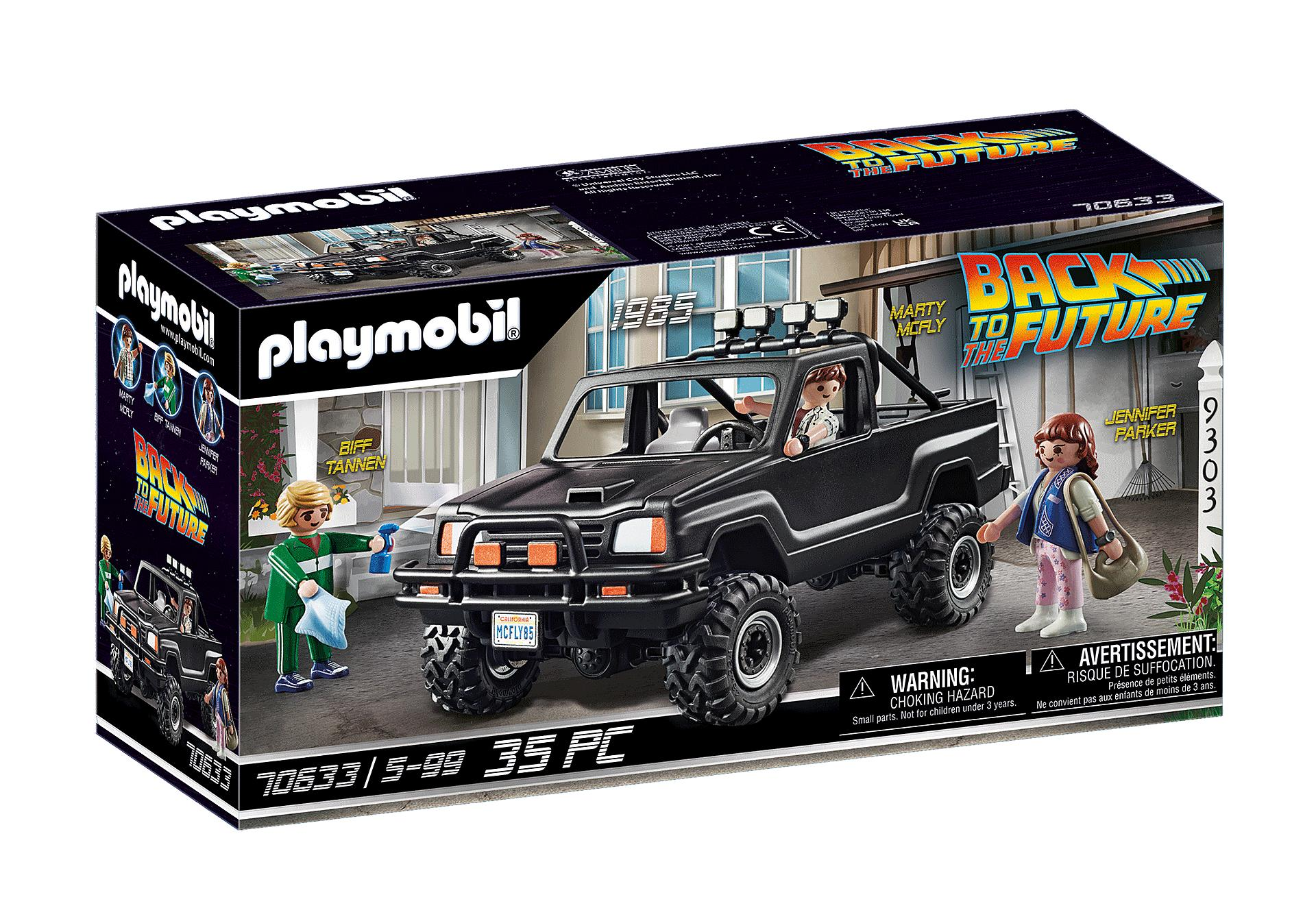 PLAYMOBIL 70633 BACK TO THE FUTURE,  CAMIONETA PICK UP DE MARTY