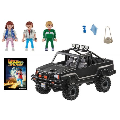 PLAYMOBIL 70633 BACK TO THE FUTURE,  CAMIONETA PICK UP DE MARTY [1]
