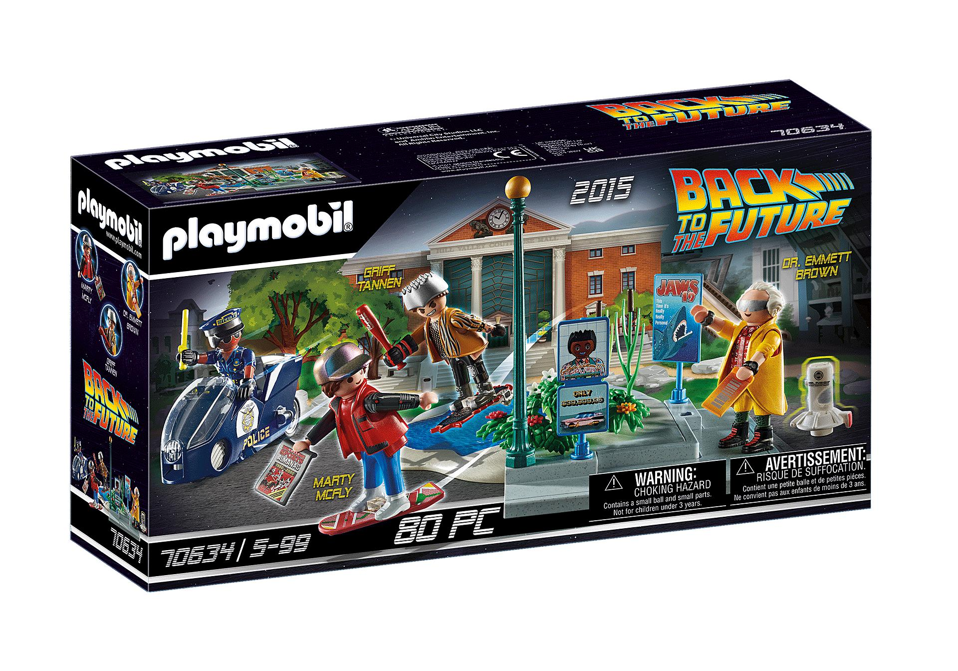 PLAYMOBIL 70634 BACK TO THE FUTURE, PARTE II PERSECUCION