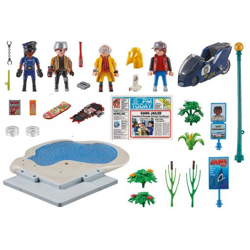 PLAYMOBIL 70634 BACK TO THE FUTURE, PARTE II PERSECUCION [1]