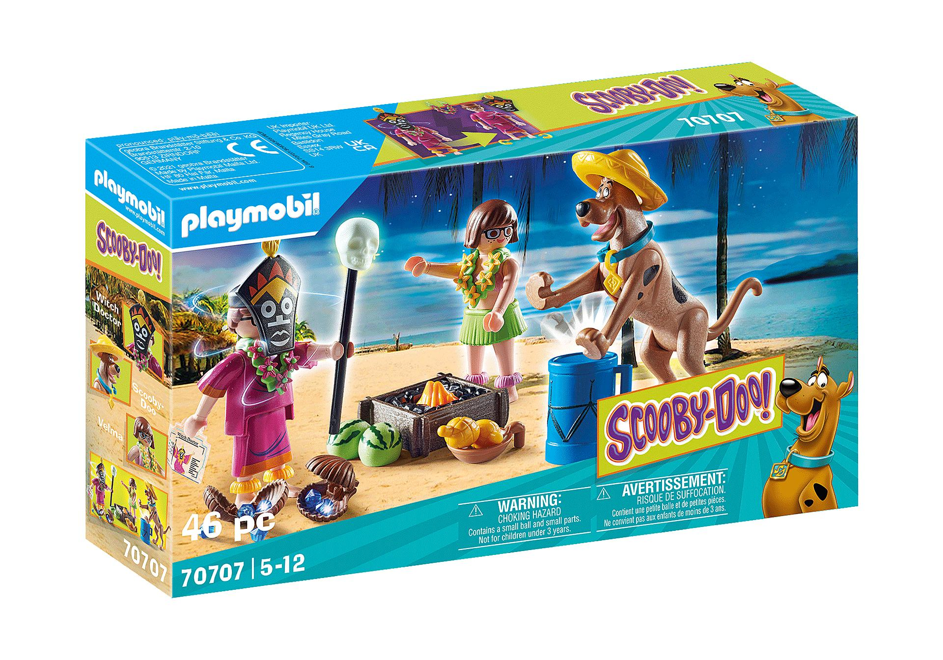 PLAYMOBIL 70707 SCOOBY-DOO! AVENTURA CON WITCH DOCTOR