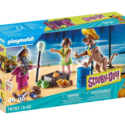 PLAYMOBIL 70707 SCOOBY-DOO! AVENTURA CON WITCH DOCTOR [0]
