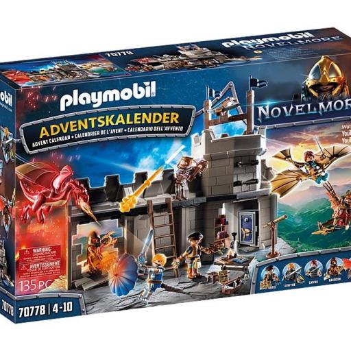 PLAYMOBIL 70778 CALENDARIO DE ADVIENTO - NOVELMORE - TALLER DE DARIO