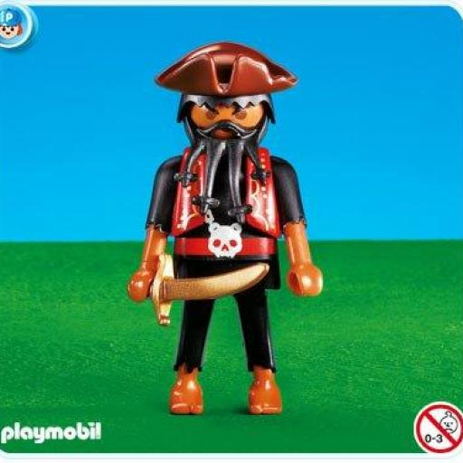 PLAYMOBIL 7380 CAPITAN PIRATA