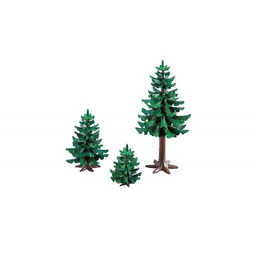 PLAYMOBIL 7725 TRES ABETOS ARBOLES