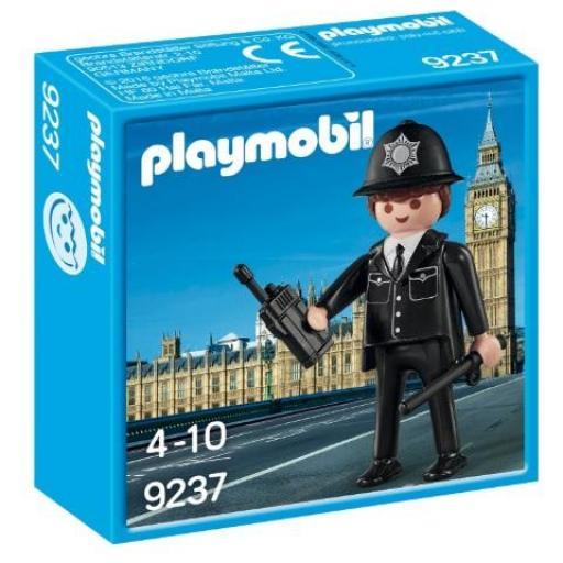 PLAYMOBIL 9237 POLICIA INGLES BOBBY