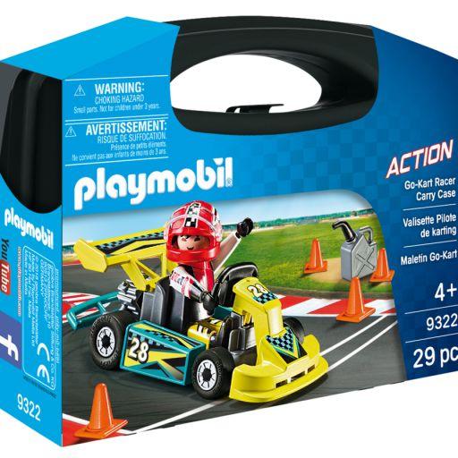 PLAYMOBIL 9322 GO-KART RACER CARRY CASE