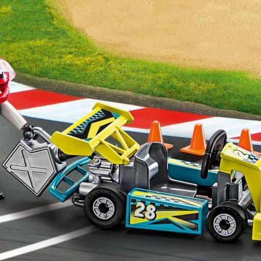 PLAYMOBIL 9322 GO-KART RACER CARRY CASE [1]