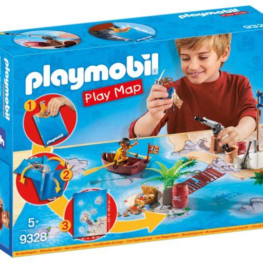 PLAYMOBIL 9328 PLAY MAPS PIRATAS