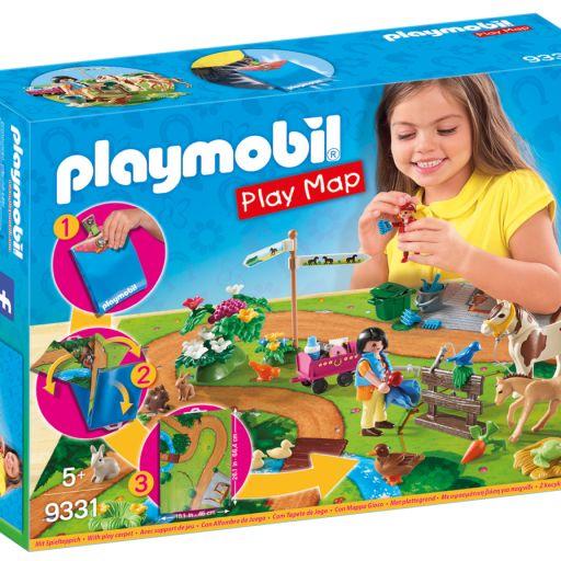 PLAYMOBIL 9331 PLAY MAP PASEO PONIS