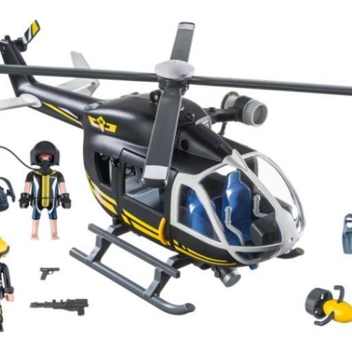 PLAYMOBIL 9363 HELICOPTERO FUERZAS ESPECIALES [1]