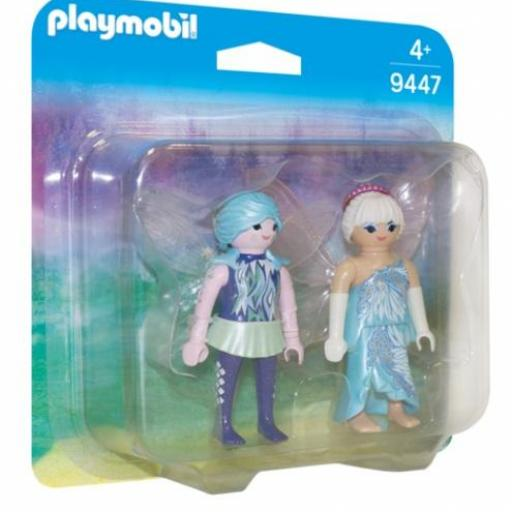 ​PLAYMOBIL 9447 DUO PACK HADAS DEL INVIERNO [0]