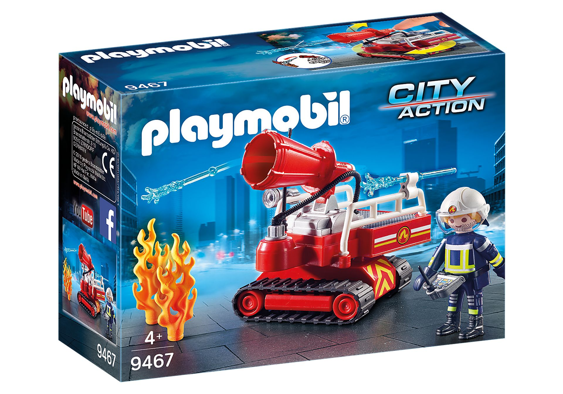 PLAYMOBIL 9467 ROBOT DE EXTINCION
