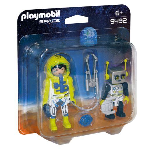 PLAYMOBIL 9492 DUO PACK ASTRONAUTA Y ROBOT [0]