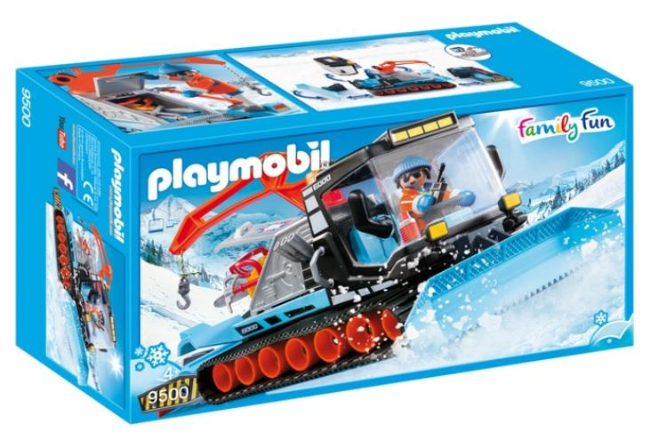 PLAYMOBIL 9500 VEHICULO QUITANIEVES