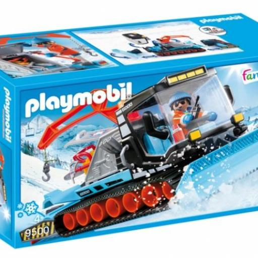 PLAYMOBIL 9500 VEHICULO QUITANIEVES