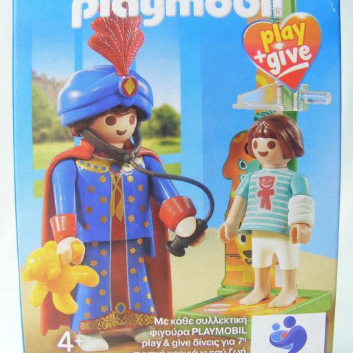 PLAYMOBIL 9519 PLAY & GIVE MAGO PEDIATRA MEDICO (EDICION GRIEGA)