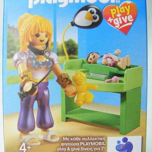 PLAYMOBIL 9520 PLAY & GIVE MAGA PEDIATRA MEDICO (EDICION GRIEGA)