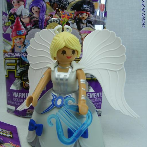 PLAYMOBIL SERIE 17 CHICAS ANGEL CON ARPA [0]