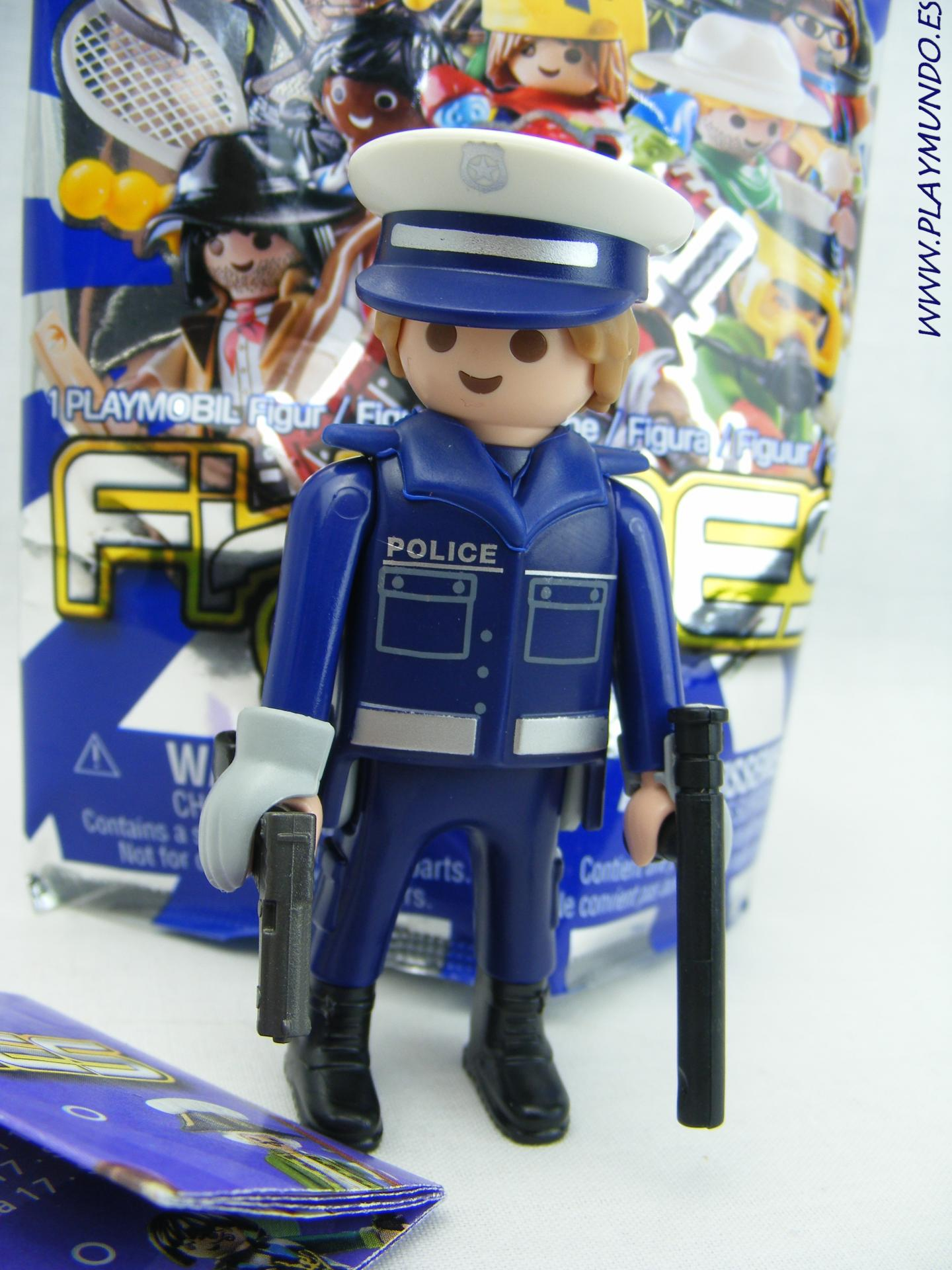 PLAYMOBIL SERIE 17 CHICOS POLICIA