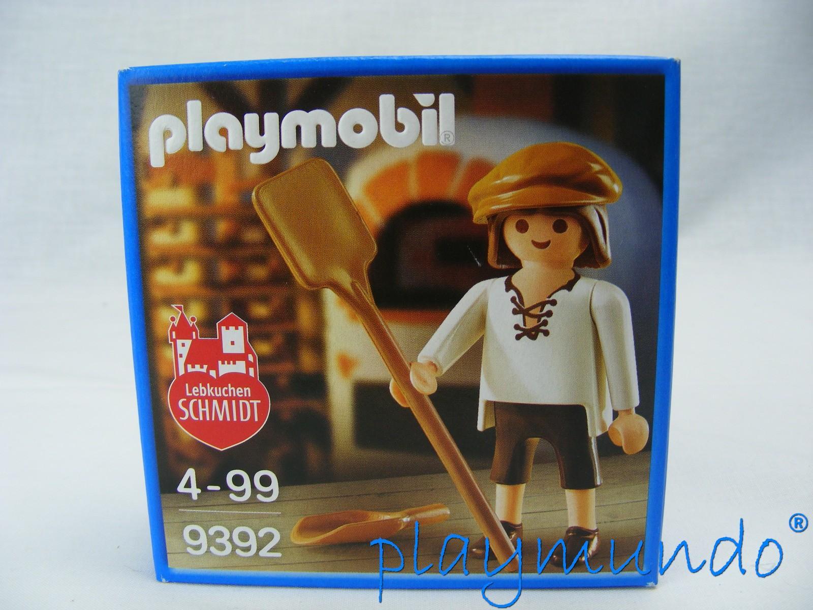 PLAYMOBIL 9392 PANADERO MEDIEVAL LEBKUCHEN SCHMIDT