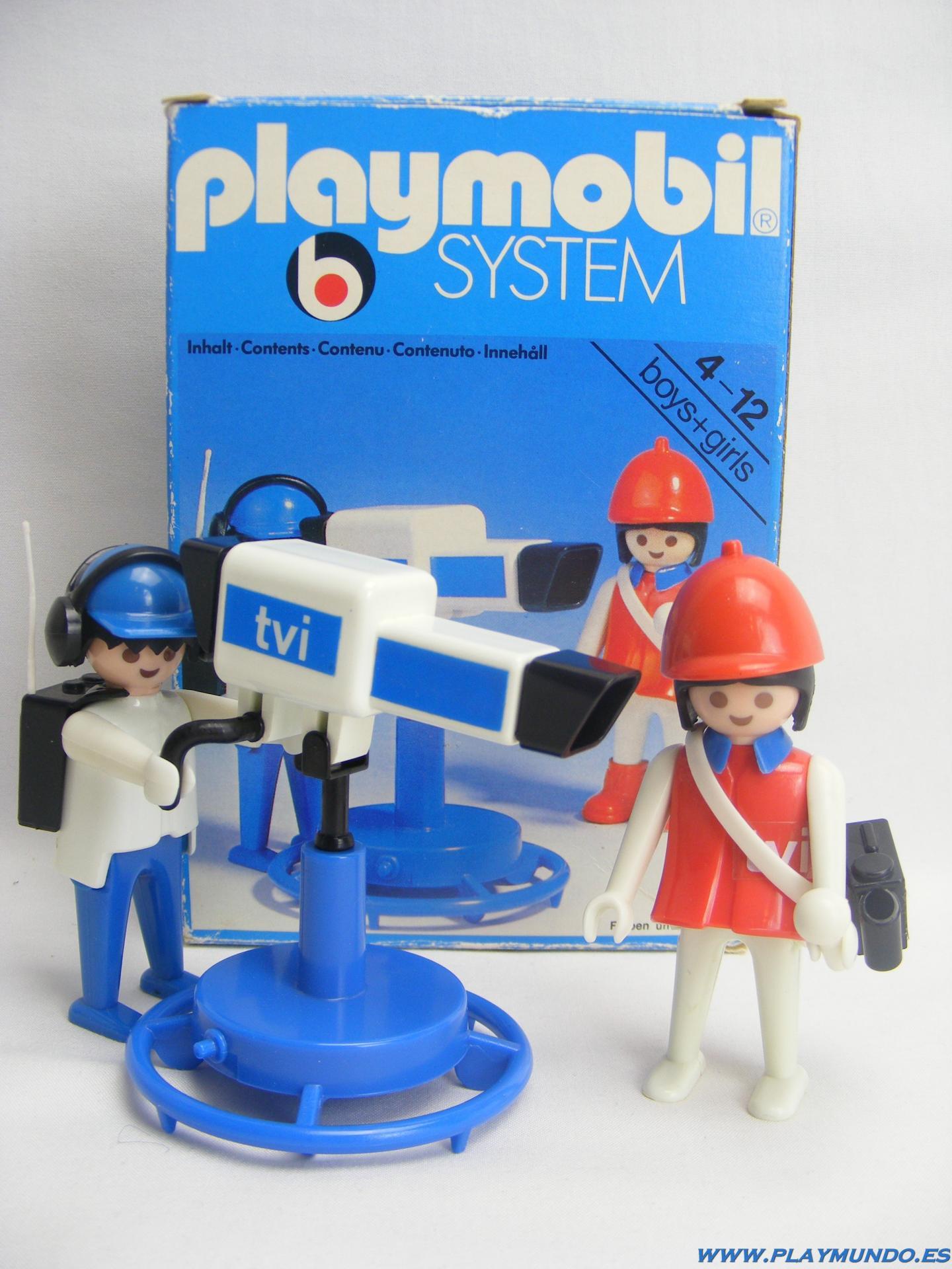 PLAYMOBIL 3571 REPORTERA CON CAMARA  (AÑO 1979 - 1985)