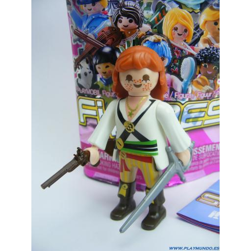 PLAYMOBIL SERIE 19 CHICAS  PIRATA