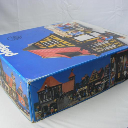 PLAYMOBIL 3455 ALFARERIA MEDIEVAL CON PUESTO ((AÑO 1982 - 1993)) [3]