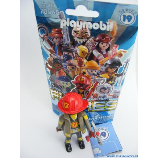 PLAYMOBIL SERIE 19 CHICOS BOMBERO [1]