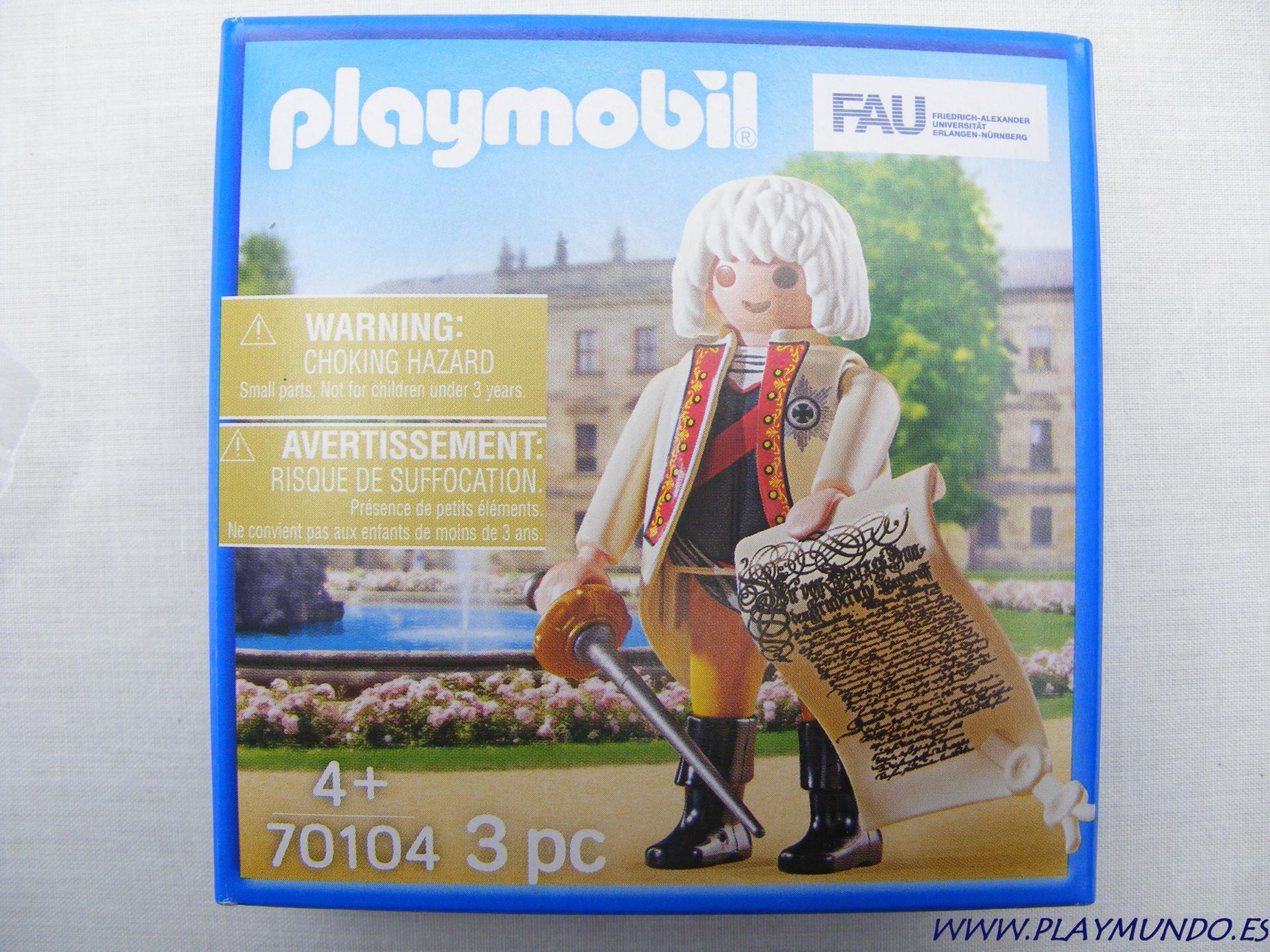 PLAYMOBIL 70104 FRIEDRICH III - Federico III de Brandeburgo-Bayreuth