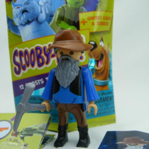 PLAYMOBIL SERIE 1 SCOOBY DOO THE CARETAKER MINERO