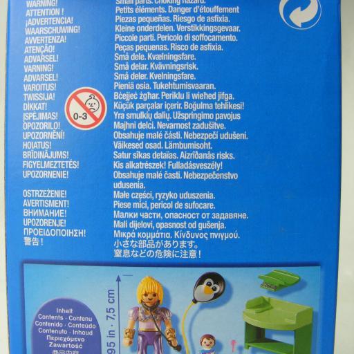PLAYMOBIL 9520 PLAY & GIVE MAGA PEDIATRA MEDICO (EDICION GRIEGA) [1]