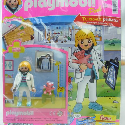 PLAYMOBIL REVISTA PINK Nº37 PEDIATRA   (SEPTIEMBRE 2021)