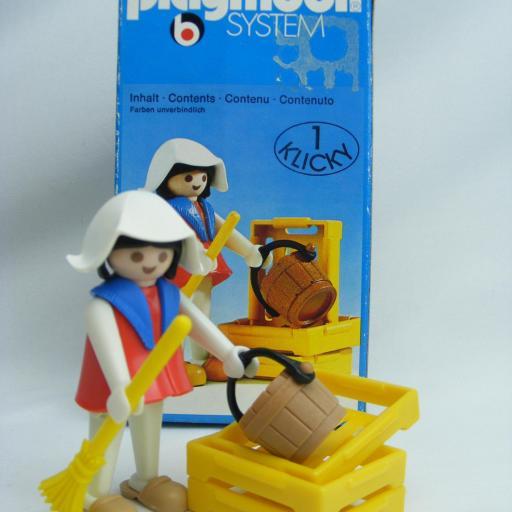 PLAYMOBIL 3374 TENDERA CAMPESINA MEDIEVAL (AÑO 1977 - 1980)