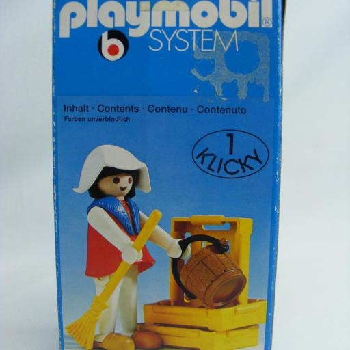 PLAYMOBIL 3374 TENDERA CAMPESINA MEDIEVAL (AÑO 1977 - 1980) [2]
