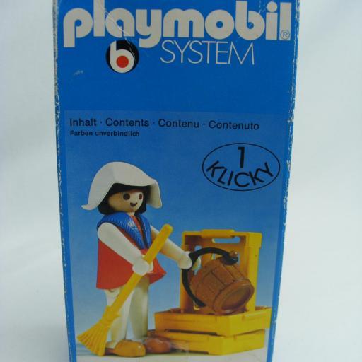 PLAYMOBIL 3374 TENDERA CAMPESINA MEDIEVAL (AÑO 1977 - 1980) [3]