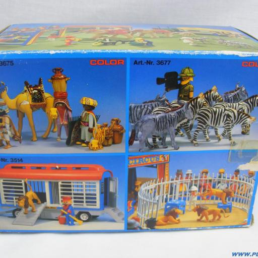 PLAYMOBIL 3529 REMOLQUE RINOCERONTE EXPEDICION SABANA (1980 - 1986) [3]
