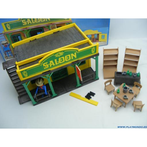PLAYMOBIL 3425 SALOON OESTE WESTERN  (1976 - 1981) [2]