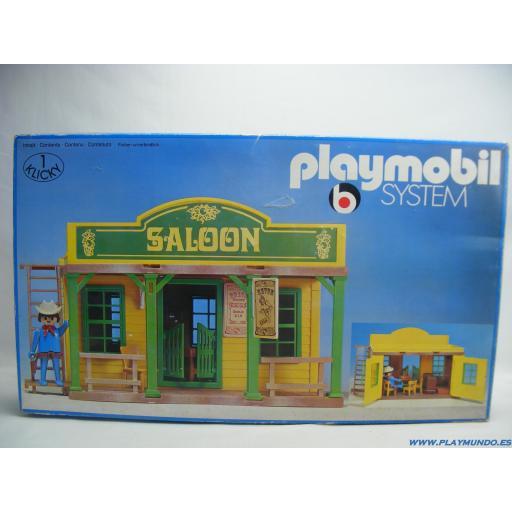 PLAYMOBIL 3425 SALOON OESTE WESTERN  (1976 - 1981) [3]