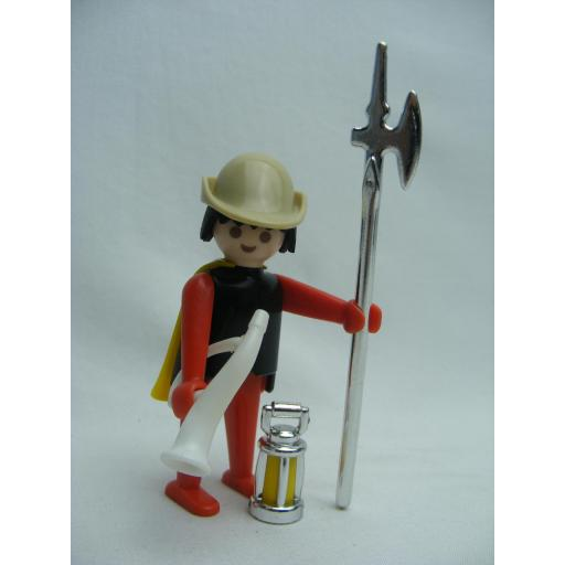 PLAYMOBIL 3378 GUARDIA MEDIEVAL (AÑO 1977)