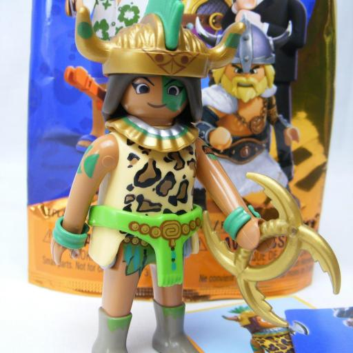 PLAYMOBIL SERIE 1 THE MOVIE VALERA GUERRERA MAYA