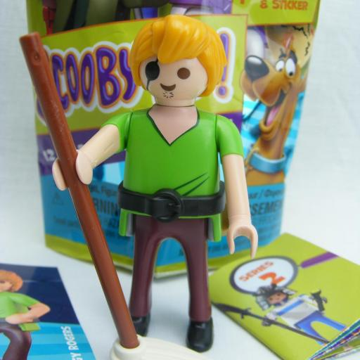 PLAYMOBIL SERIE 2 SCOOBY DOO SHAGGY ROGERS