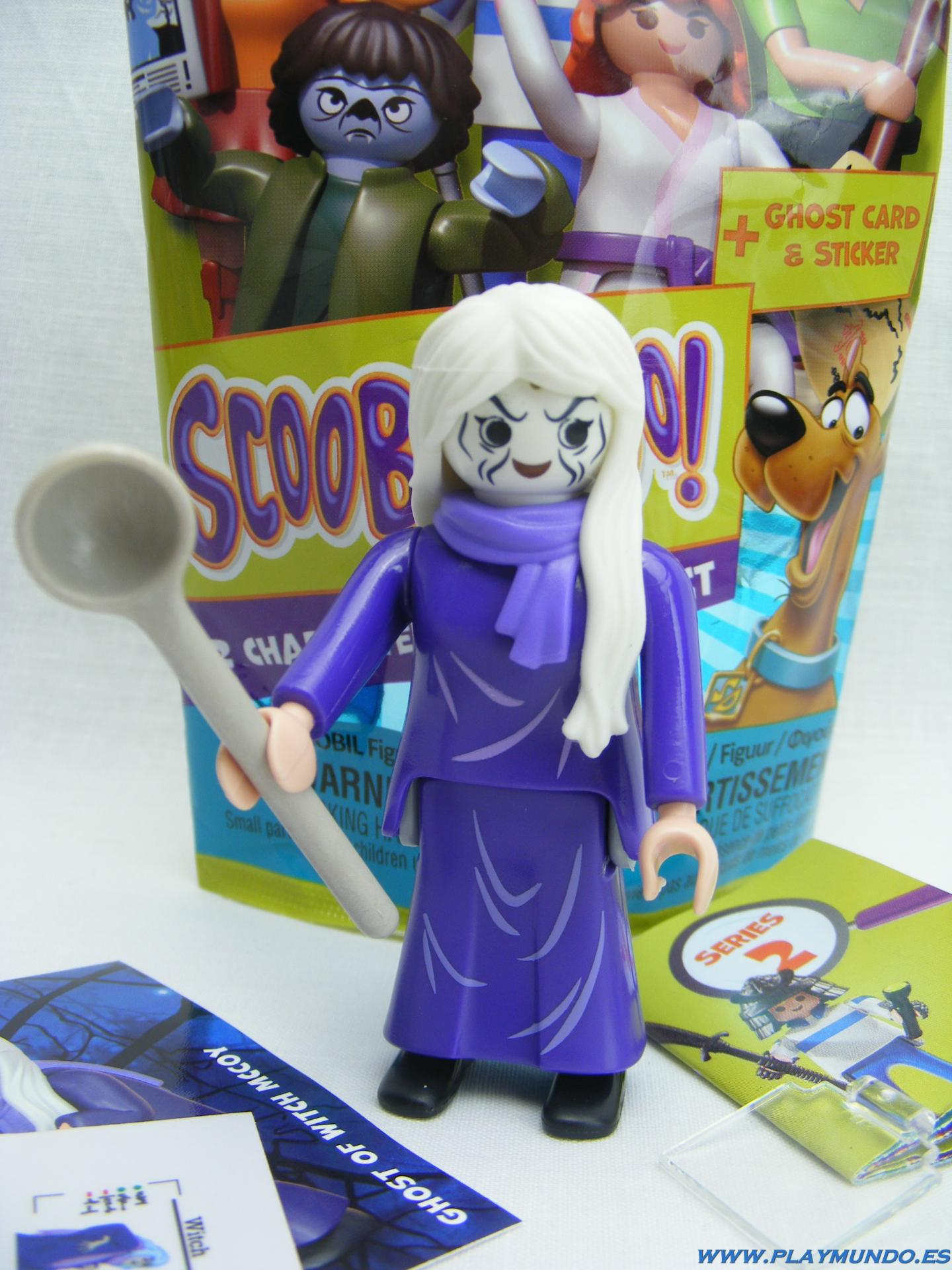 PLAYMOBIL SERIE 2 SCOOBY DOO BRUJA (GHOST OF WITCH MCCOY)