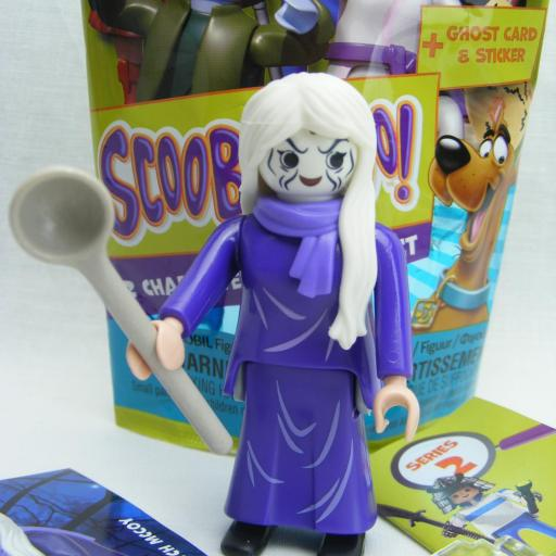 PLAYMOBIL SERIE 2 SCOOBY DOO BRUJA (GHOST OF WITCH MCCOY) [0]