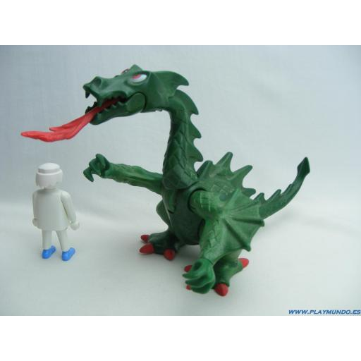 PLAYMOBIL DRAGON VERDE MOD7
