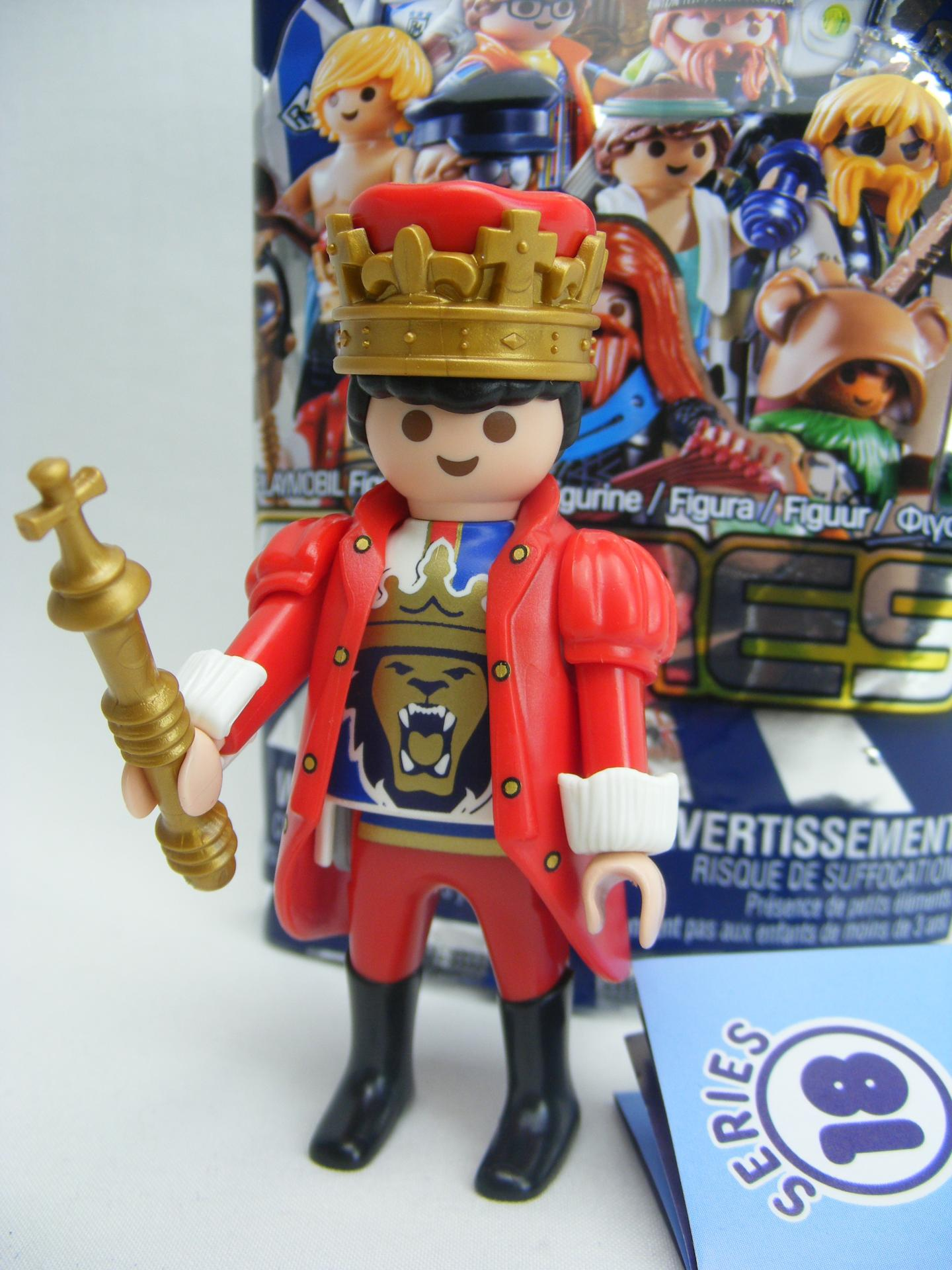 PLAYMOBIL SERIE 18 CHICOS REY MEDIEVAL QUEEN