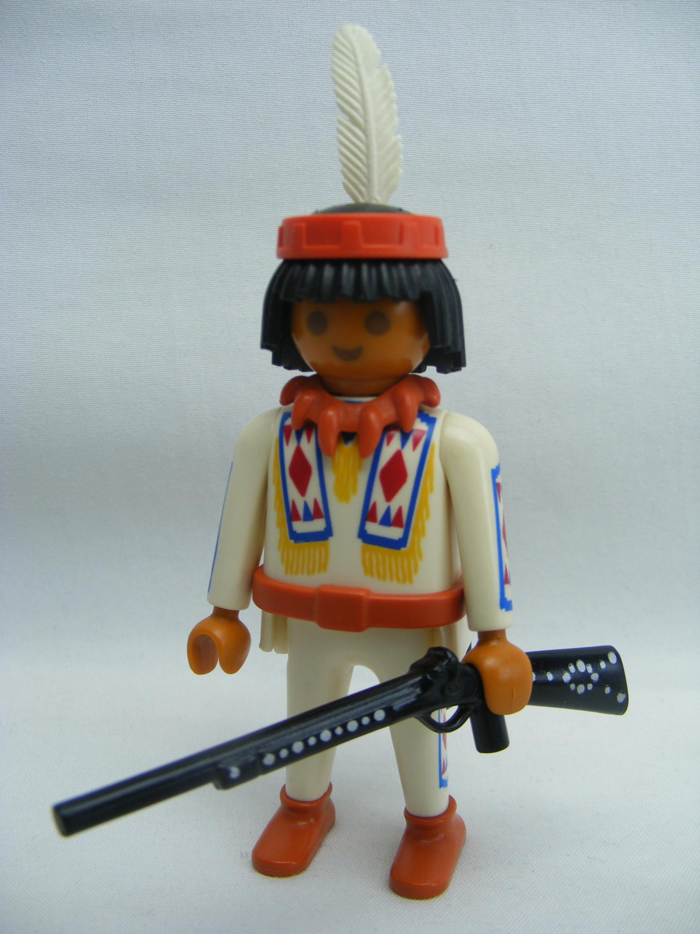 PLAYMOBIL 4504 SPECIAL INDIO OESTE WESTERN (1994 - 1996)