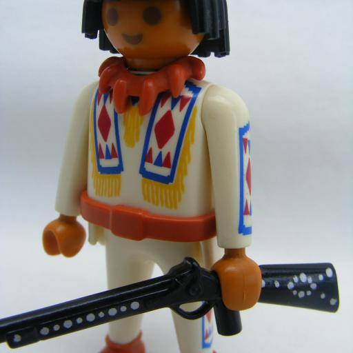 PLAYMOBIL 4504 SPECIAL INDIO OESTE WESTERN (1994 - 1996) [2]